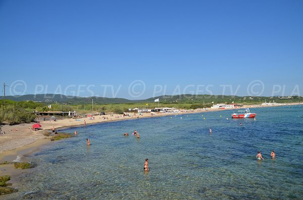 Beaches of Pampelonne and Bonne Terrasse - France