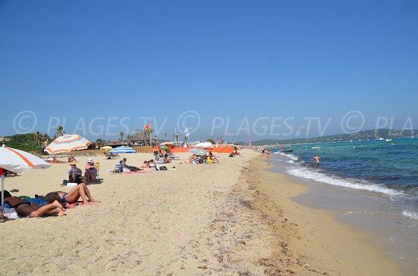 Public beach of Pampelonne - Epi zone