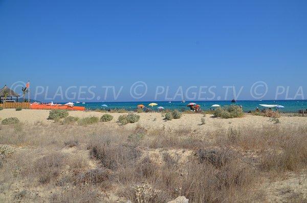 Sulla spiaggia di Pampelonne - Epi