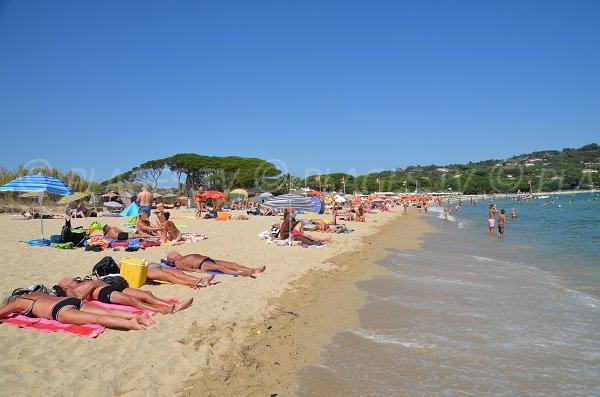 Spiaggia Pampelonne Moulins - Ramatuelle - penisola di St Tropez