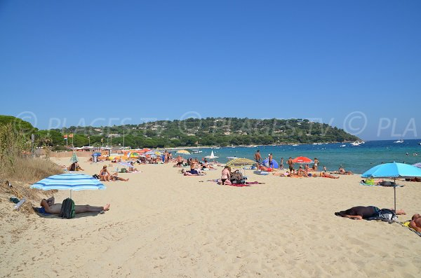 Photo of Pampelonne beach in France - Moulins area