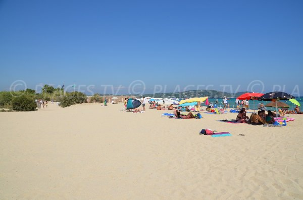 Photo of the Pampelonne beach - Patch sector