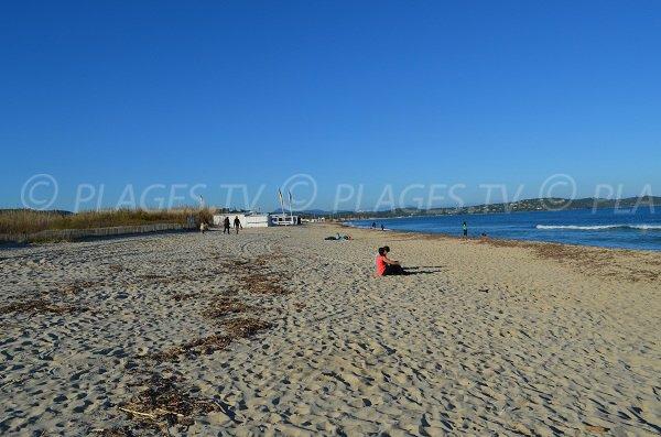 Parte sud della spiaggia di Pampelonne