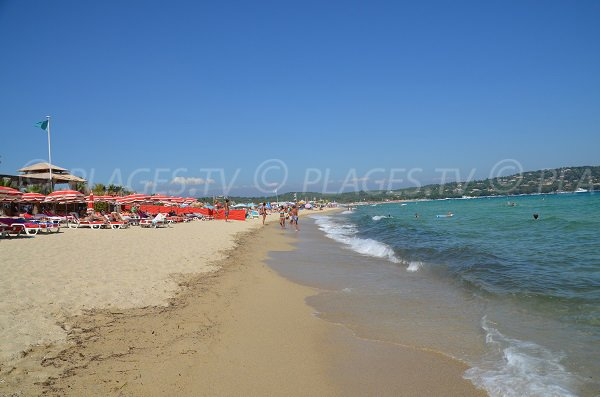 Pampelonne private beach - Tamaris zone