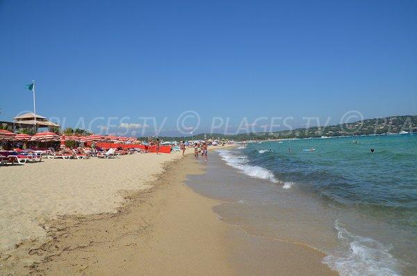 Pampelonne private beach - Tamaris zone