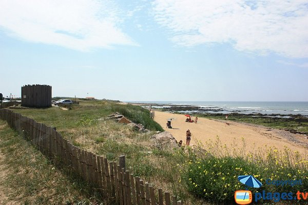 Photo of the Paracou beach in Les Sables d'Olonne - La Chaume