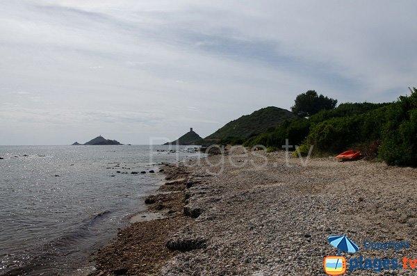 Spiaggia della Parata a Ajaccio