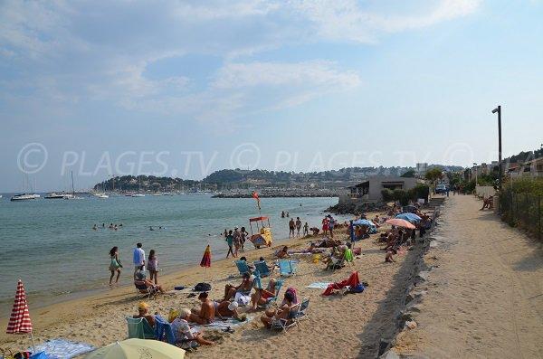 Cavalaire beach - Parc area