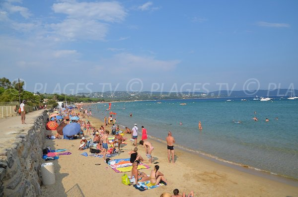 Photo of Parc beach in Cavalaire sur Mer - France