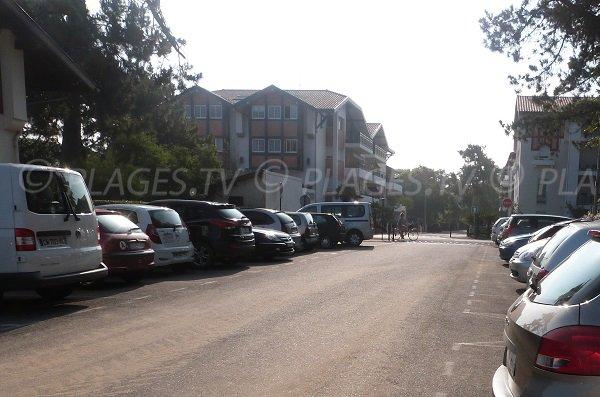 Parking de la plage du Parc à Hossegor