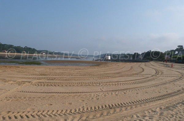 Park beach in Hossegor - France