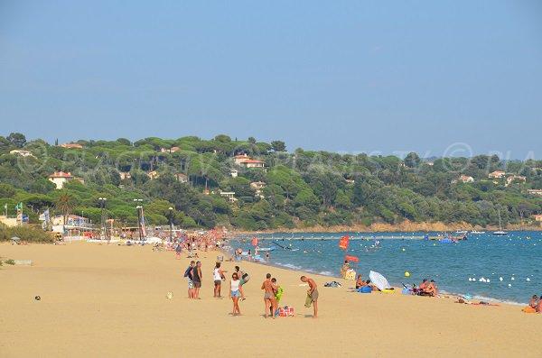 Spiaggia a La Croix Valmer e Cavalaire sur Mer - Francia