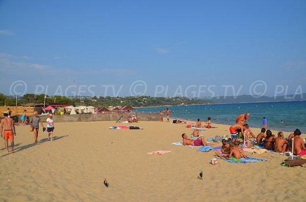 Spiaggia privata Pardigon a Cavalaire sur Mer