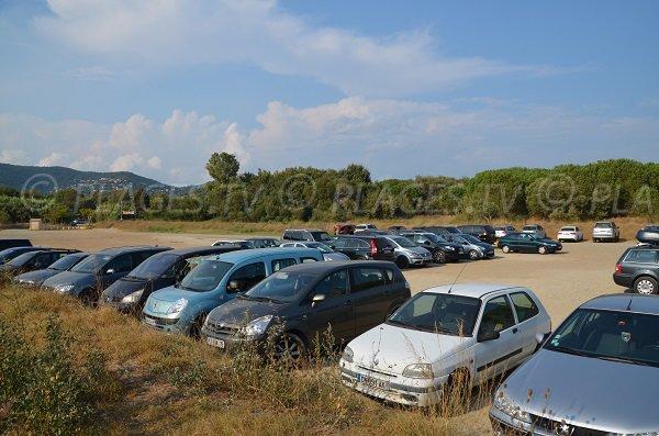 Parking de la plage de Pardigon - Cavalaire sur Mer