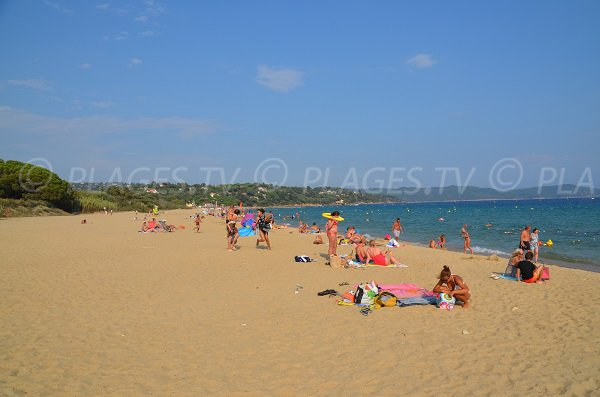 Photo de la plage de Pardigon à Cavalaire sur Mer