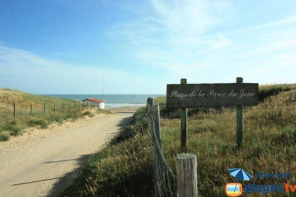 Photo of Parée du Jonc beach in Saint Jean de Monts - France