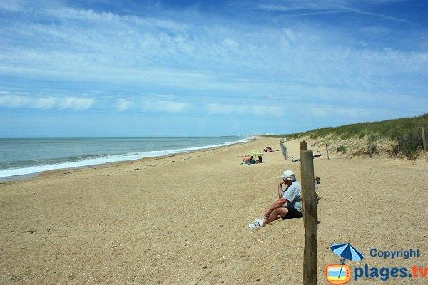 Photo of Parée Préneau beach in St Hilaire de Riez - France