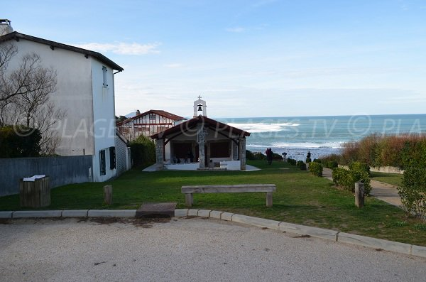 Chapelle sur la plage de Bidart