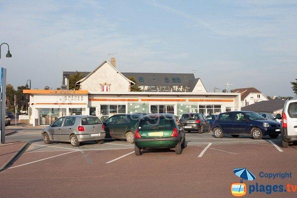 Parking de la plage du Passous - Agon-Coutainville