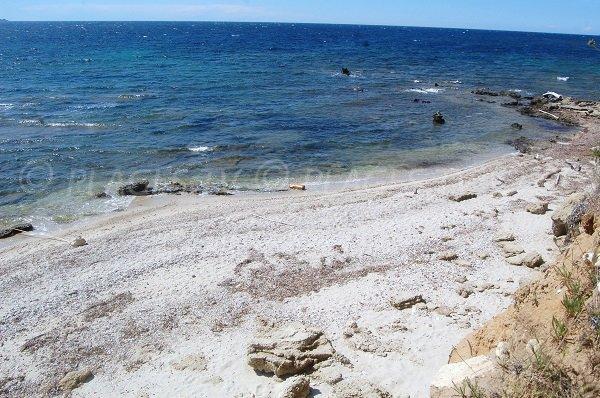Spiaggia selvaggia vicino a St Florent - Patrimonio