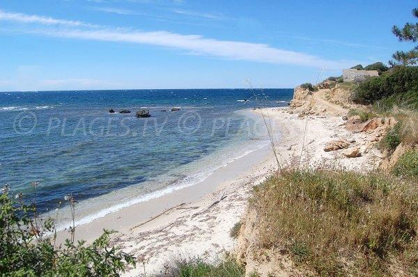 Spiaggia di Patrimonio in Corsica