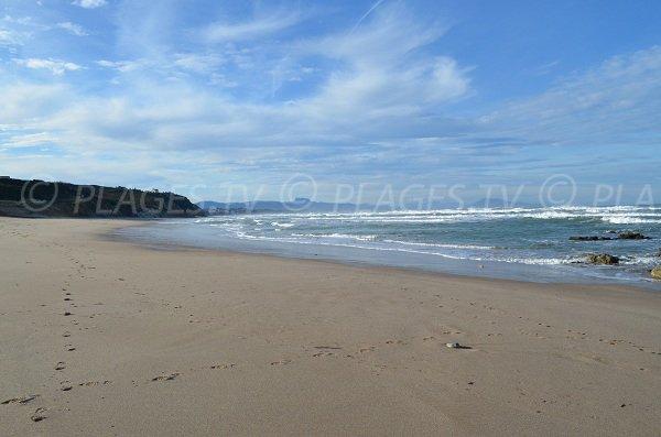 Spiaggia pubblica a Bidart