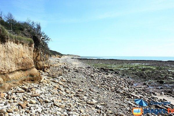 Photo d'une crique sur la route de la pointe du Payré - Jard sur Mer