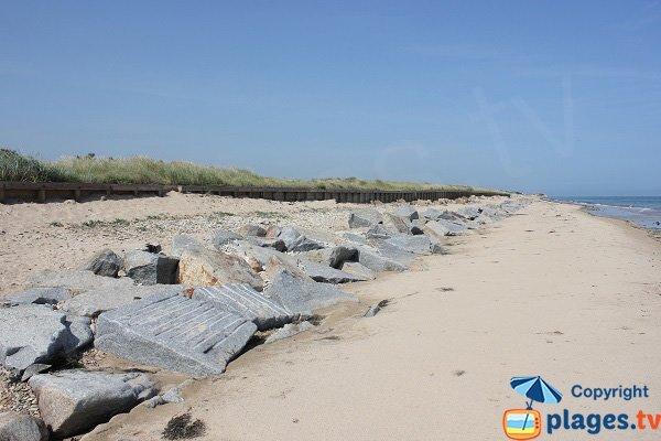 Photo de la plage de Pearson à Graye sur Mer