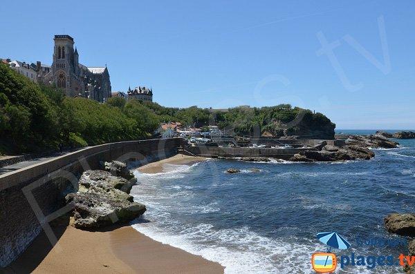 Plage p cheurs biarritz 64 pyr n es atlantiques - Hotel de la plage biarritz 3 esplanade du port vieux ...