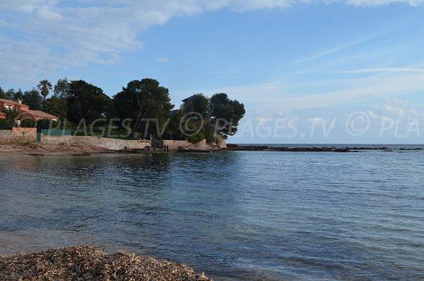Environnement de la plage de la Péguière