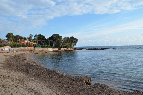 Photo of Peguiere beach in Saint Raphael - France
