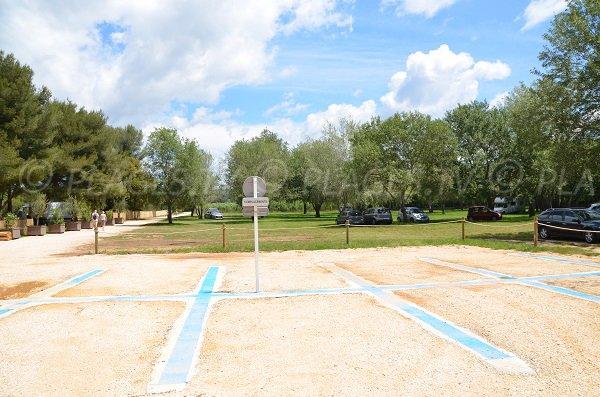 Car park on the Pellegrin beach - Bormes les Mimosas