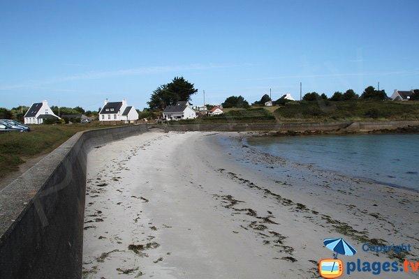 Plage de Pen Enez - Finistère Nord