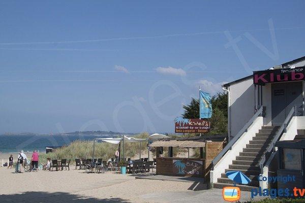 Restaurant of Pen Guen beach - Saint Cast le Guildo