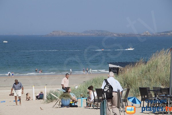 Beautiful beach in St Cast le Guildo