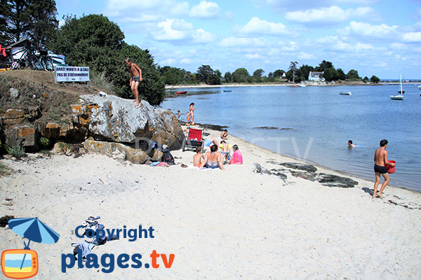 Photo de la plage de Penara sur l'ile d'Arz