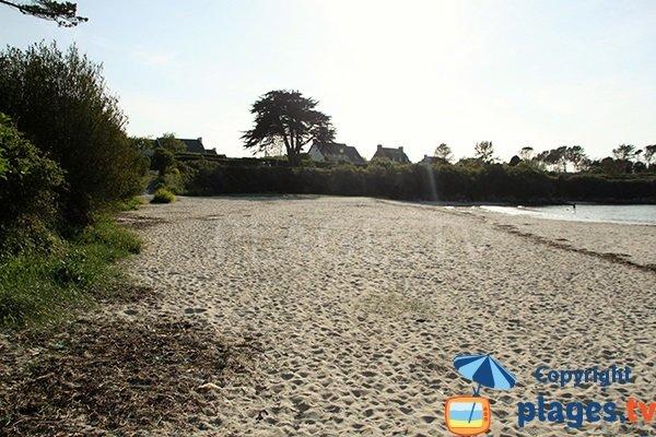 Grande plage à Argenton - Finistère Nord