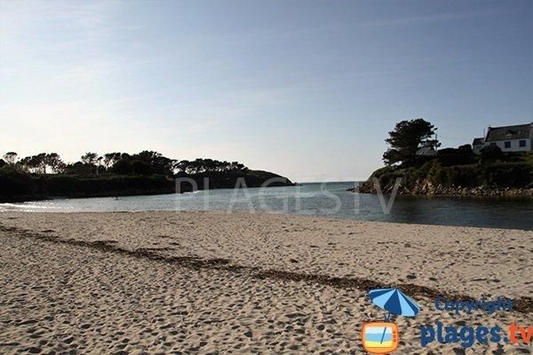 Belle plage à Landunvez - Argenton