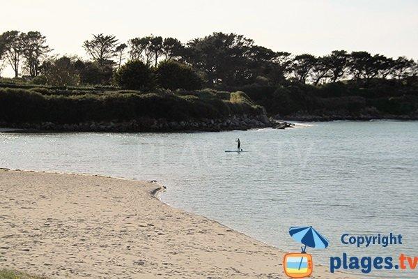 Photo de la plage de Pentoull à Argenton