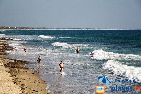 Grande plage de Pouldreuzic