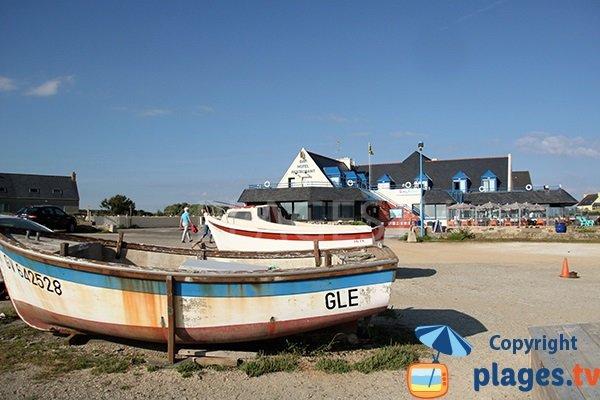 Restaurants autour de la plage de Penhors - Pouldreuzic