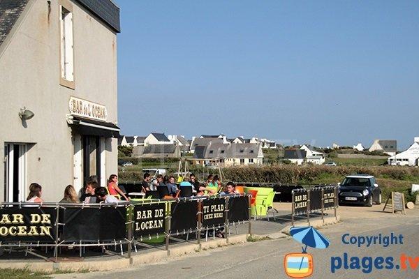 Bar à surfeurs à Pouldreuzic