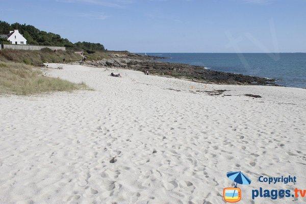 Plage de Pen Morvan à Sainte Marine
