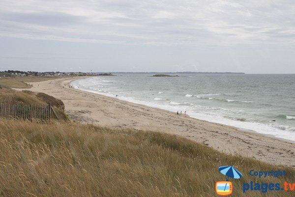 Penn er Malo beach in Guidel - France