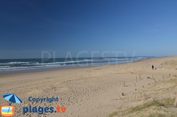 Photo de la plage du Penon à Seignosse