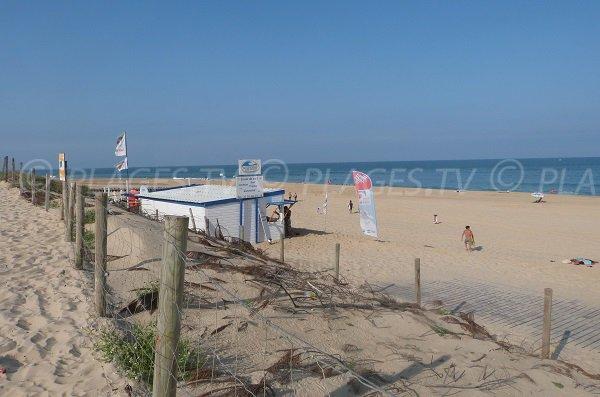 Photo de la plage du Penon à Seignosse dans les Landes