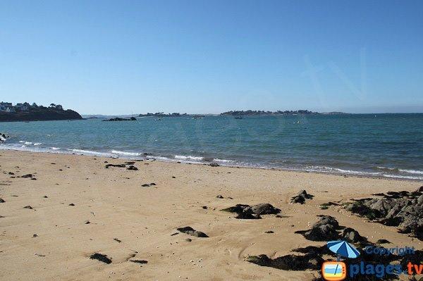 Ile Callot vue depuis la plage du Penquer de Carantec