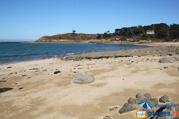 Penquer beach in Carantec - Brittany