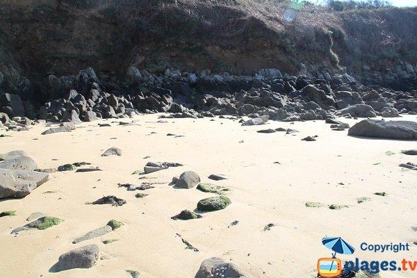 Rochers de la plage du Penquer à Carantec