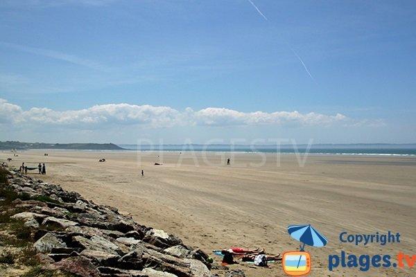 plage de Pentrez à St Nic - Bretagne